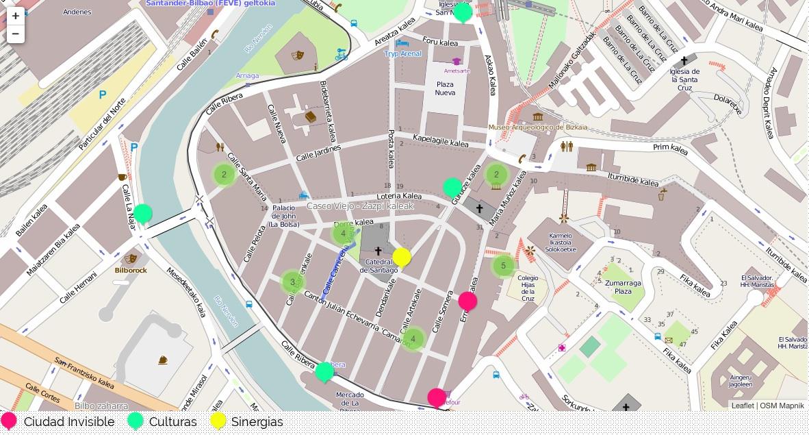 mapa casco viejo