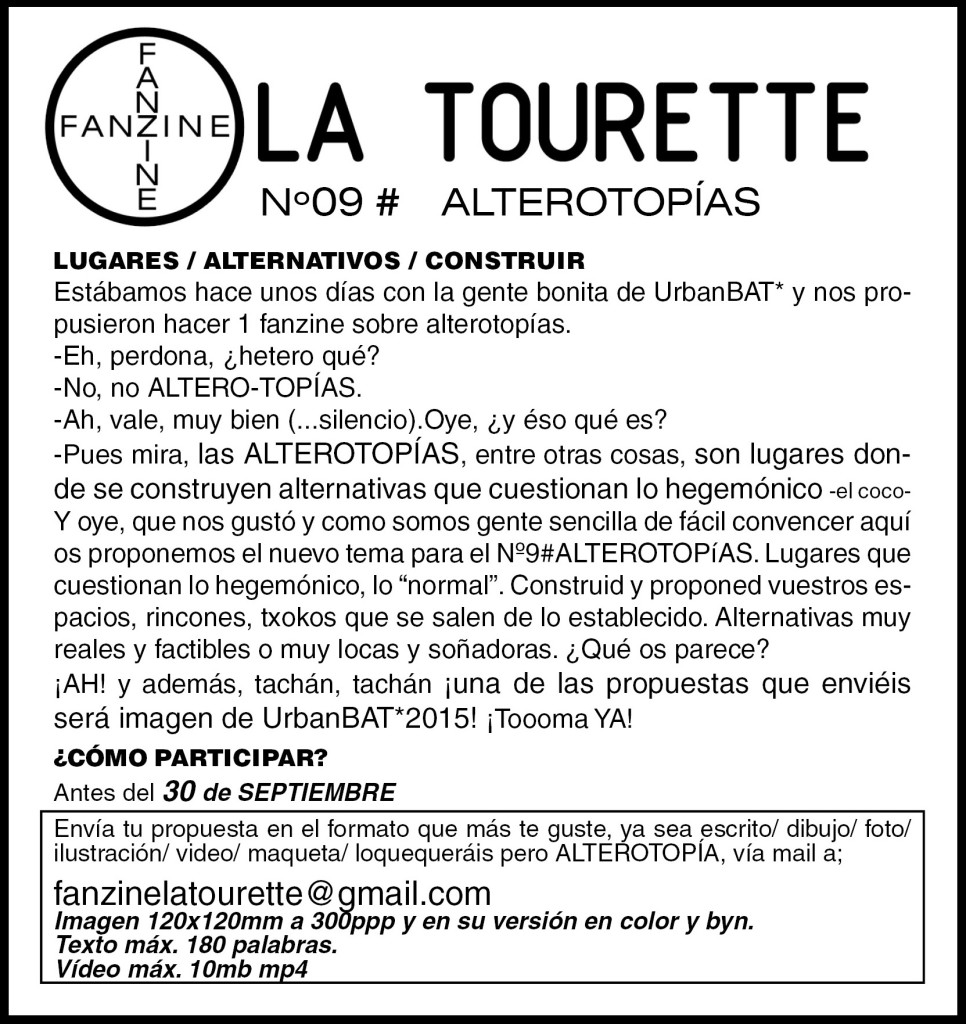 Nº9#ALTEROTOPÍAS cast