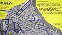 Mapa Besazo